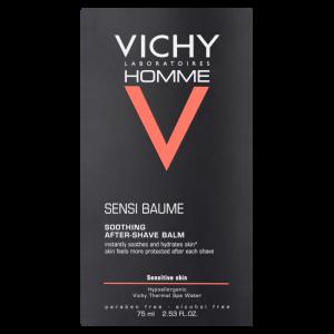 Vichy Homme Sensi Balzam poslije brijanja za jačanje kože 75 ml