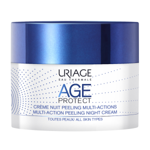 Uriage AGE PROTECT MULTI-ACTION peeling noćna krema