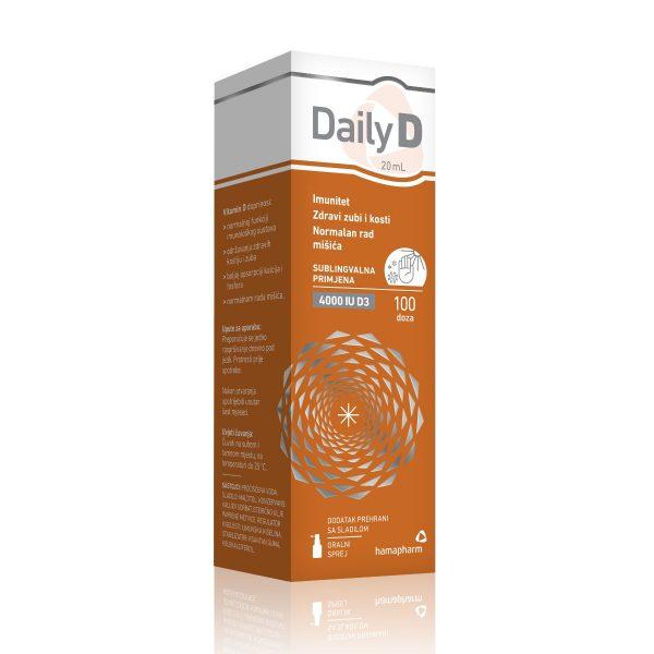 Daily D 4000 Iu Sprej