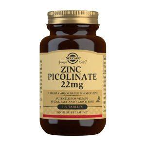 Solgar Cink pikolinat tablete 22 mg