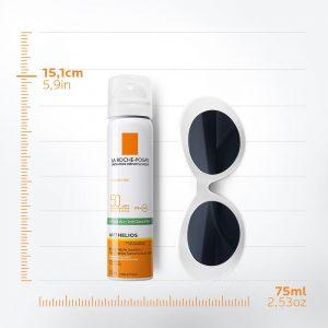 La Roche-Posay Anthelios nevidljivi i osvježavajuci sprej za lice, protiv sjaja 75 ml