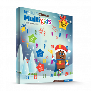 Biorela® Choco Multi Kids - Adventski kalendar