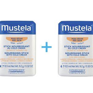 Mustela Hidratantni stick s Cold kremom 1+1 GRATIS